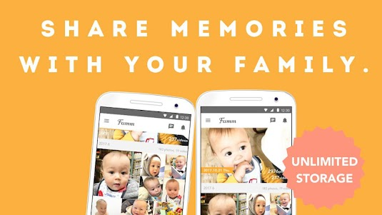 Famm - photo & video storage for baby and kids. 3.10.0 screenshot 1