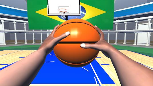 BASQUETE BASKETBALL VR FREE 1.0 screenshot 2