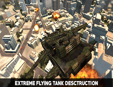 Flying War Tank Simulator 1.0 screenshot 2