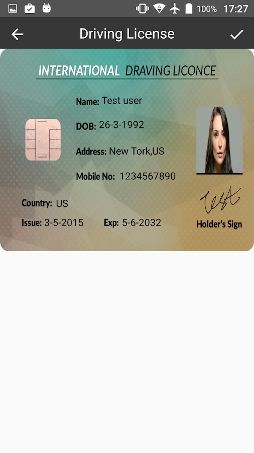 Fake ID Card Generator 1 2 APK Download - Android Entertainment Apps