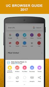 New UC Browser Guide 2017 1.1 screenshot 1