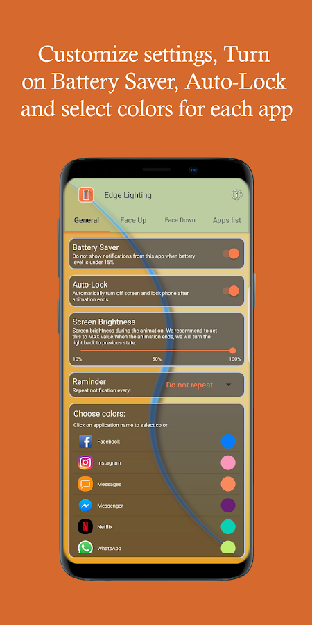 Edge Lighting Lite 3 1 APK Download - Android Personalization Apps