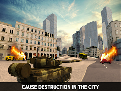 Flying War Tank Simulator 1.0 screenshot 9
