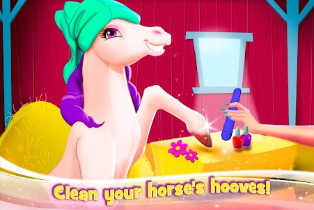 Newborn Horse Pet Care - Baby Foal Animal Salon 1.0.0 screenshot 3
