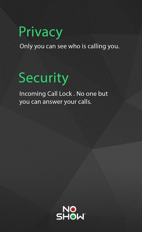 NO SHOW Privacy Hide Caller ID APK Download - Android Tools Apps