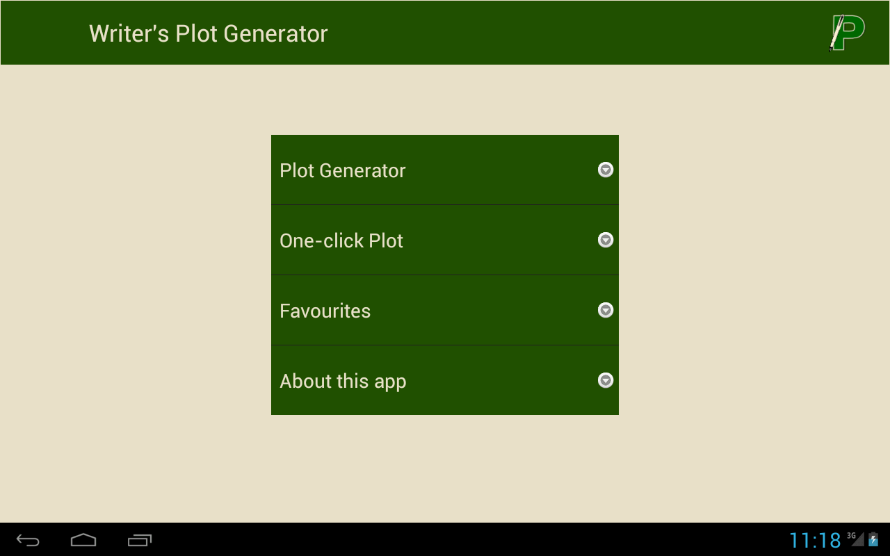 Writer's Plot Generator 1 2 APK Download - Android Productivity Apps