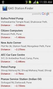 GAS Station Finder 1.3 screenshot 2