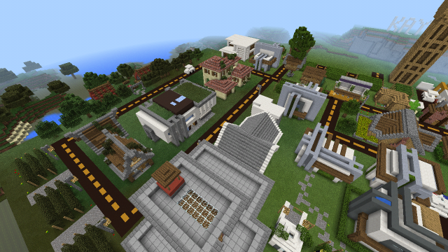 Modern City map for Minecraft 1.18 APK Download - Android ...