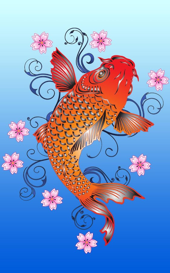 Koi Fish Live Wallpaper 71 Screenshot 4