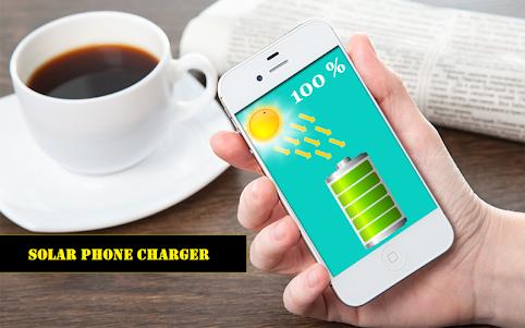 Solar Mobile Charger Prank 9.0 screenshot 1