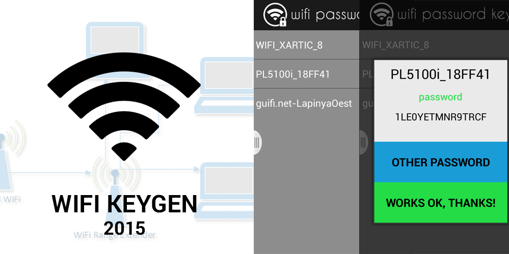 wifi password keygen apk