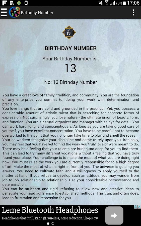 Numerology Calculator 1 16 APK Download - Android