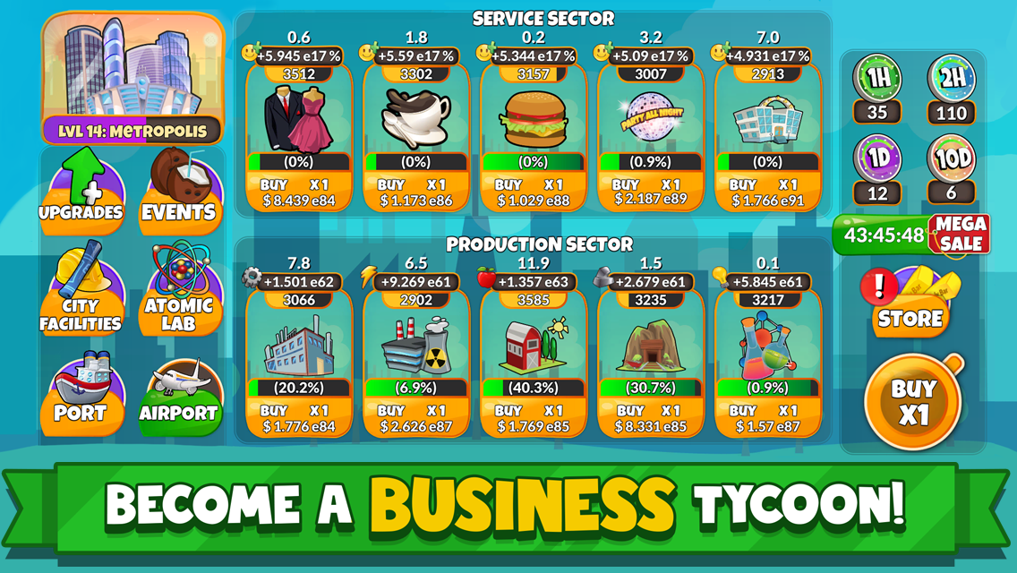 Holyday City Tycoon: Idle Resource Management 5 4 APK