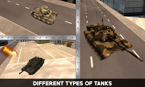 Flying War Tank Simulator 1.0 screenshot 3