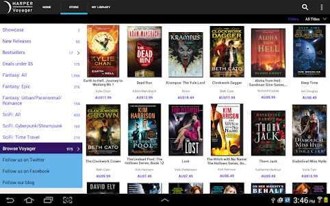 VoyagerBooks: Fantasy & Sci Fi 1.39.832 screenshot 7