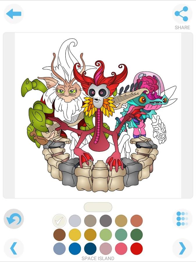 My Singing Monsters Coloring 111 Screenshot 7
