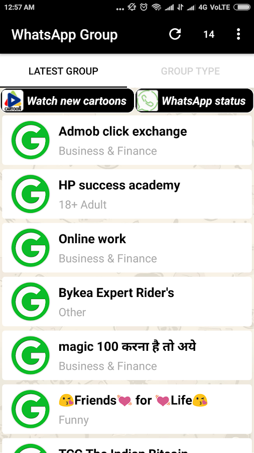 Groups For Whatsapp 1 4 APK Download - Android Entertainment