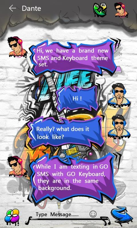 free go sms music life theme 8 60 apk download android