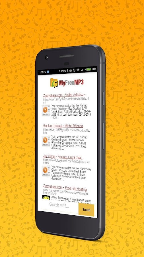 MyFreeMP3 - Search and Download Free MP3 1 0 APK Download