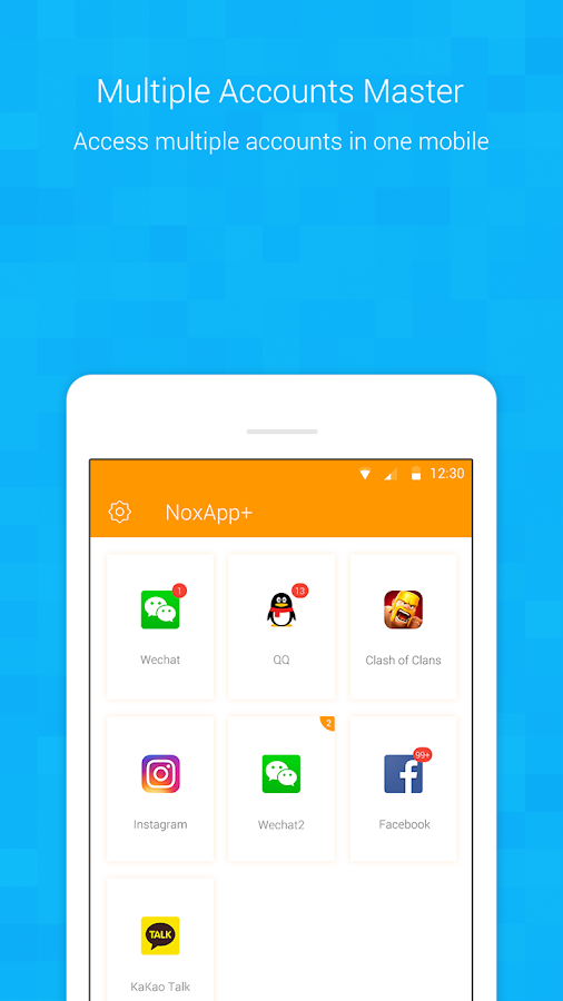 NoxApp+ - Multiple accounts clone app 1 2 2 APK Download - Android
