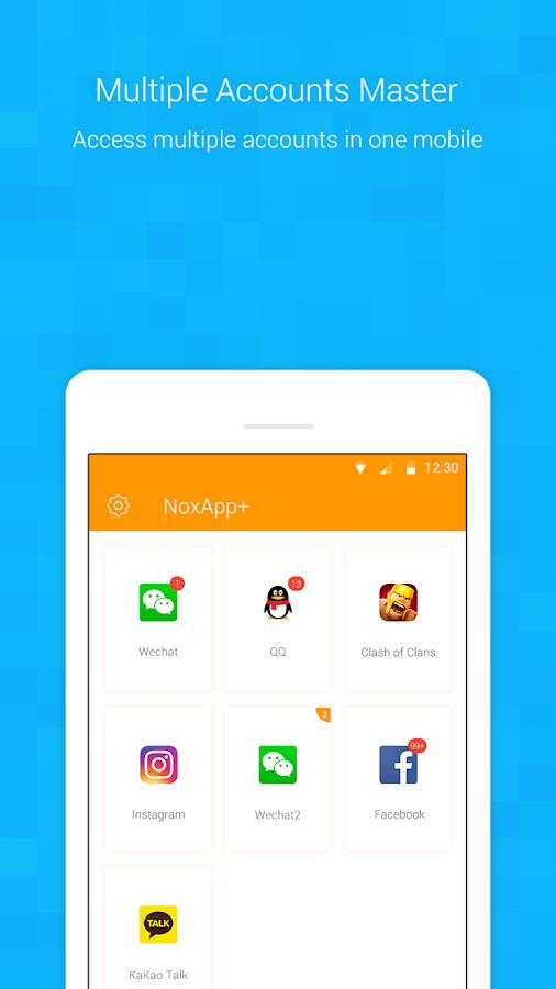 NoxApp+ - Multiple accounts clone app 1 2 2 APK Download - Android