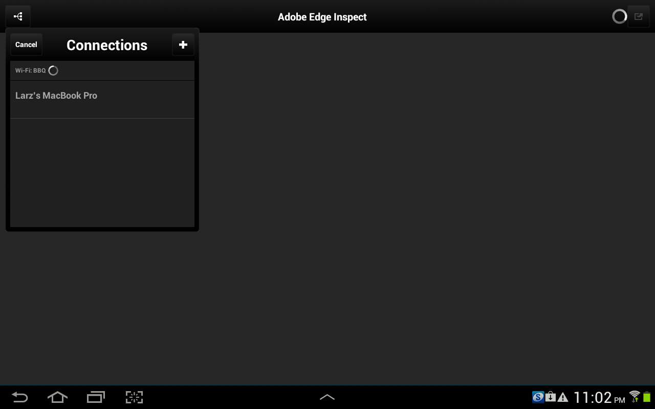 how to use adobe edge inspect