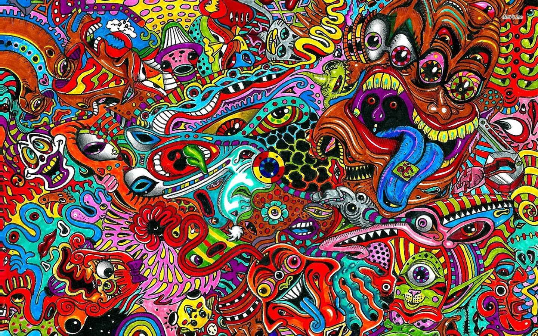 Psychedelic Live Wallpaper 130 Screenshot 1