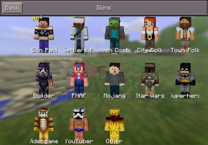 Skin For MCPE Mod APK Download Android Entertainment Apps - Skins para minecraft pe 0 15 2