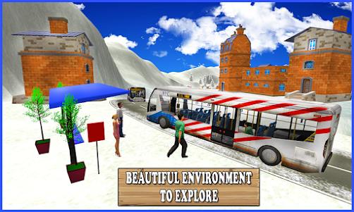 Extreme Snow Bus Driving 1.1 screenshot 1
