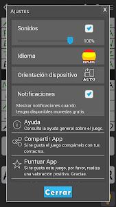 Crosswords - Spanish version (Crucigramas) 1.1.8 screenshot 7