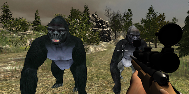 Gorilla Hunter Simulator 2015 1.9 screenshot 6