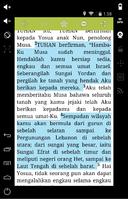 Malay Bible Alkitab 17 APK Download Android Books