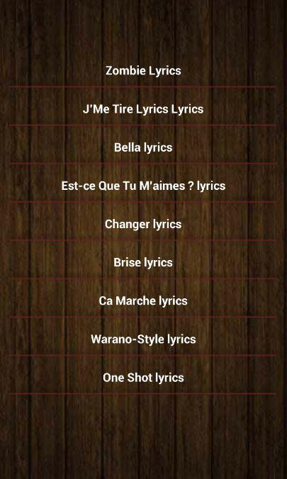 Maitre Gims Song Lyrics 10 Apk Download Android Music
