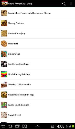 Aneka Resep Kue Kering 1.1 screenshot 11