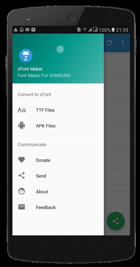 Custom Font Maker For SAMSUNG(zFont Maker) 1 1 APK Download