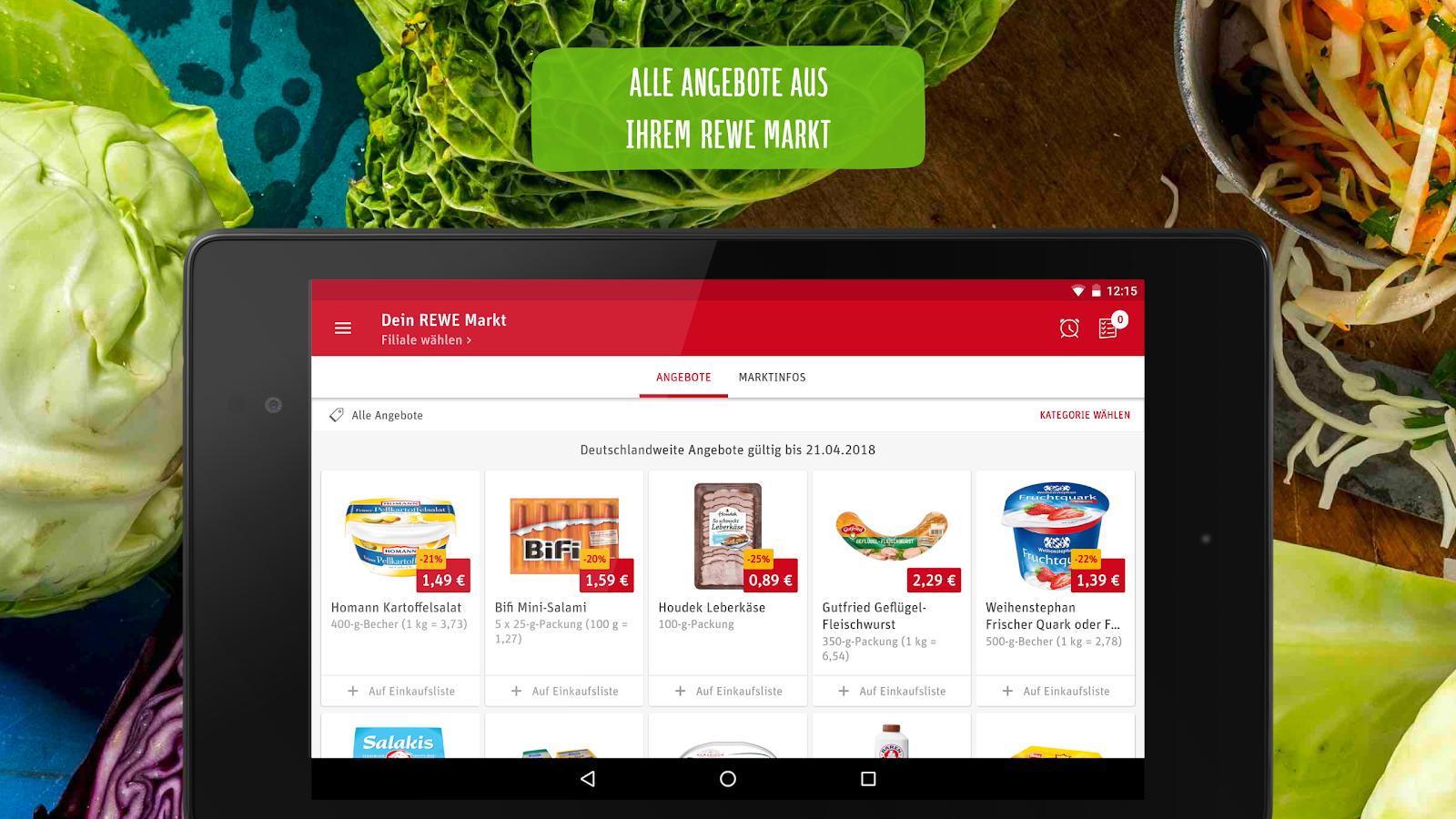 REWE Angebote & Lieferservice 3.3.1-37 APK Download - Android cats ...