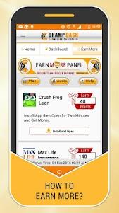Champcash Earn Money Free 2.2.12 screenshot 2
