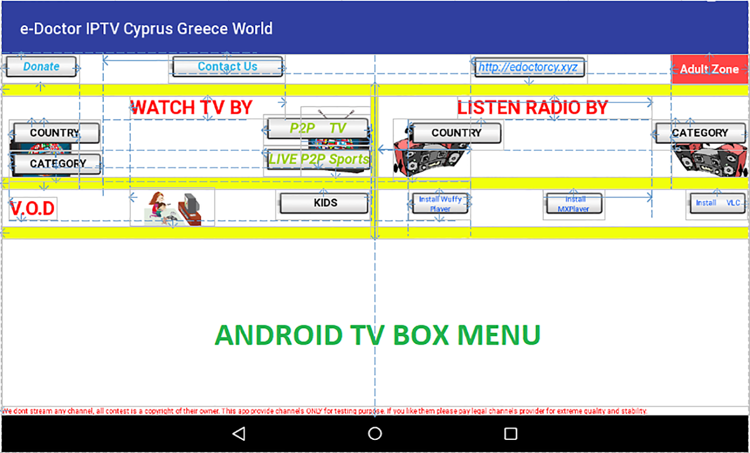 e-Doctor IPTV Cyprus/Greece TV 6 02 APK Download - Android