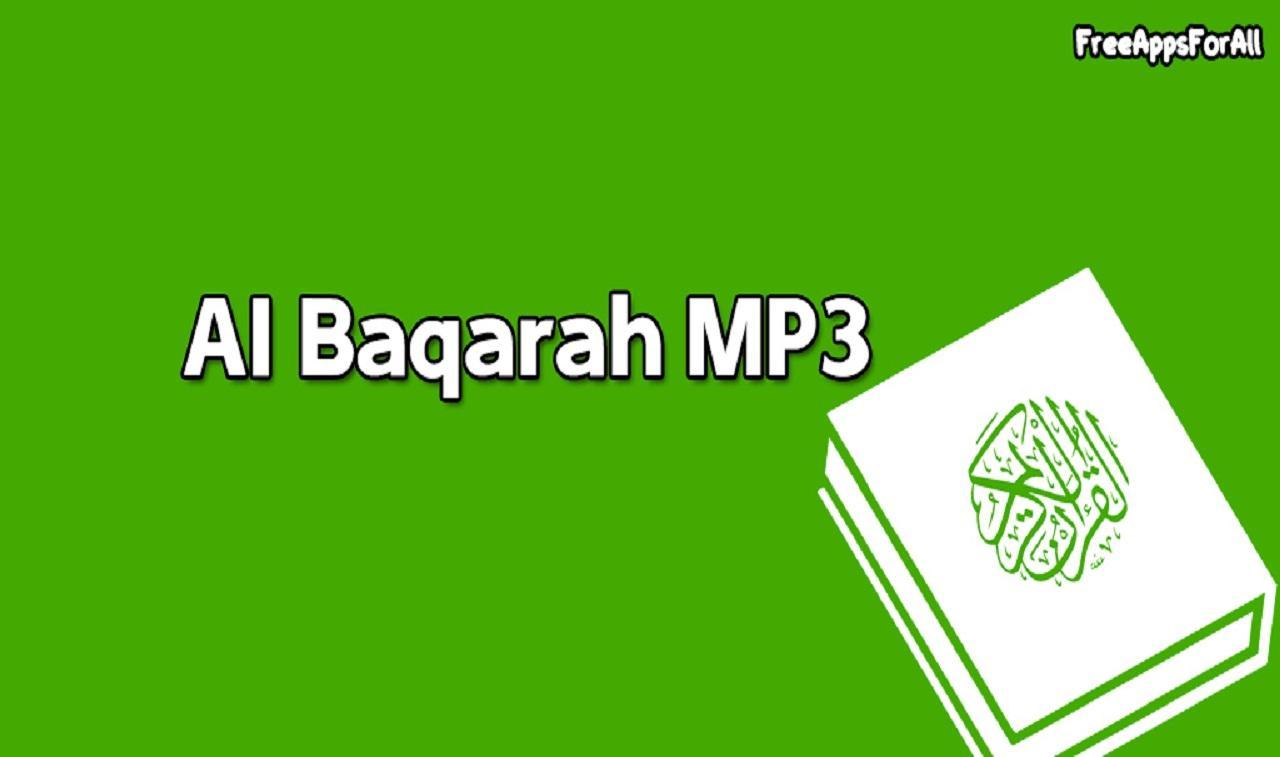 BAQARA TÉLÉCHARGER GRATUIT MP3 AL SOUDAIS