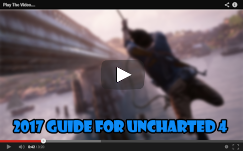 2017 Guide for Uncharted 4 1.1 screenshot 1