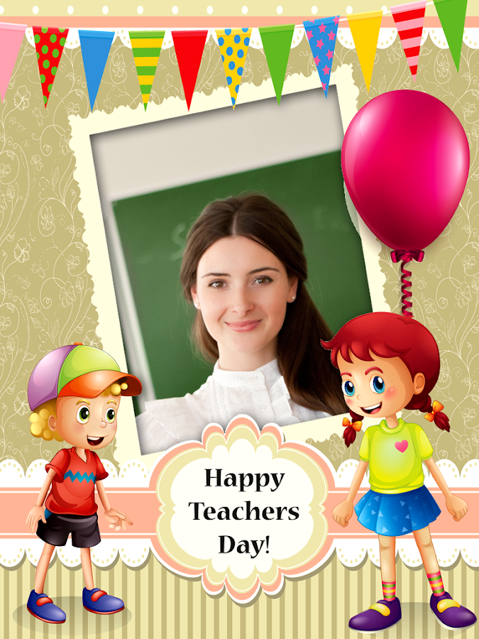 Teachers\' Day Photo Frames 1.0.0 APK Download - Android Photography Apps