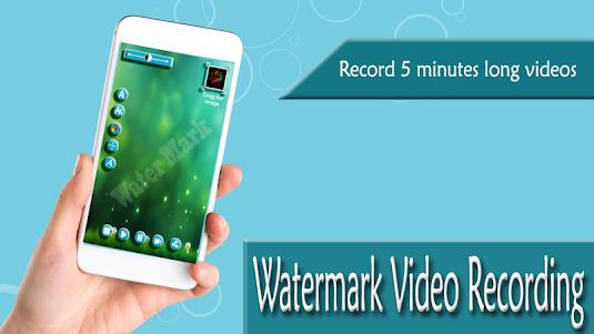 Watermark Video Recording 1.1 screenshot 1