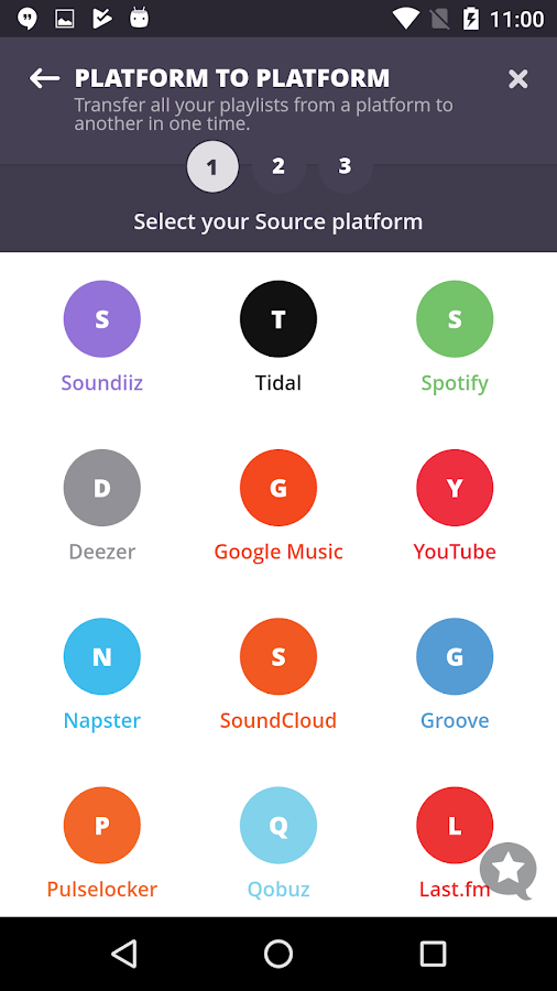 Soundiiz: transfer your playlists and favorites 1 0 2 APK