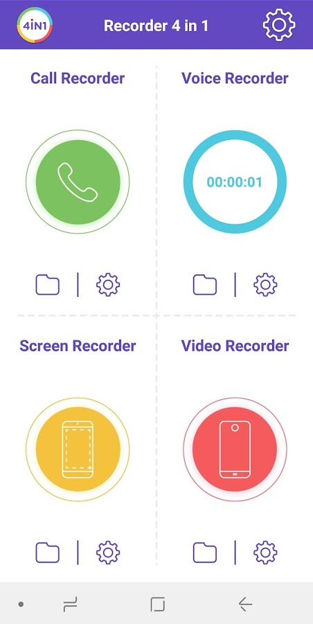Recorder 4 in 1 3 5 APK Download - Android Tools Apps