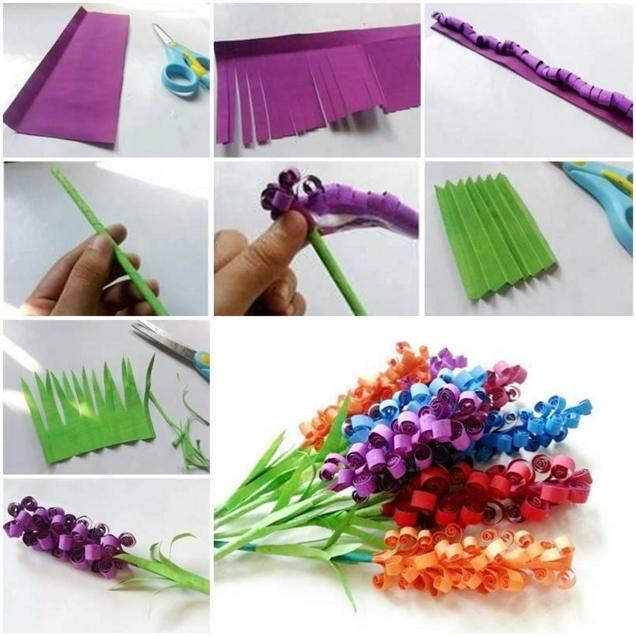 How To Make Easy Paper Flowers With Construction Paper Flowers Healthy
