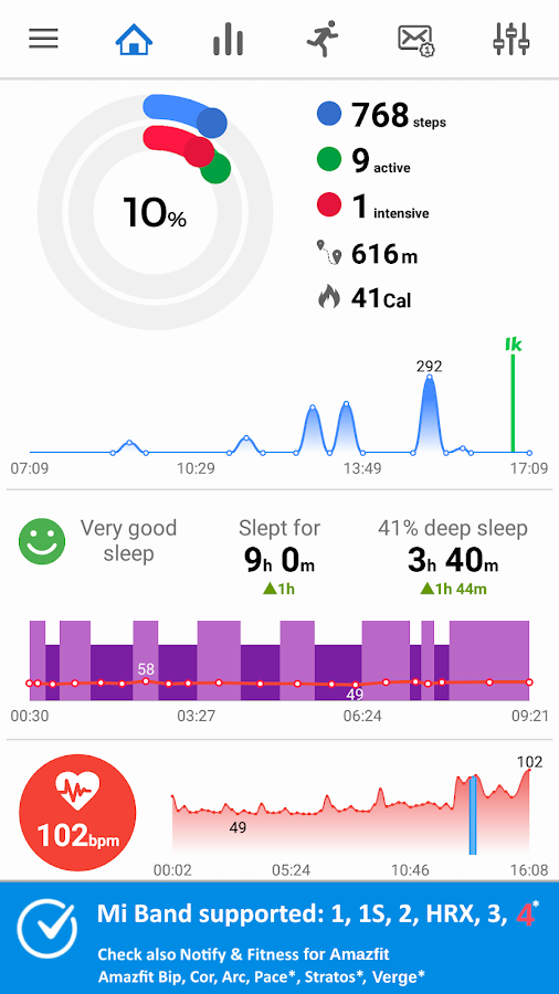 com mc miband1 8 9 8 APK Download - Android Health & Fitness