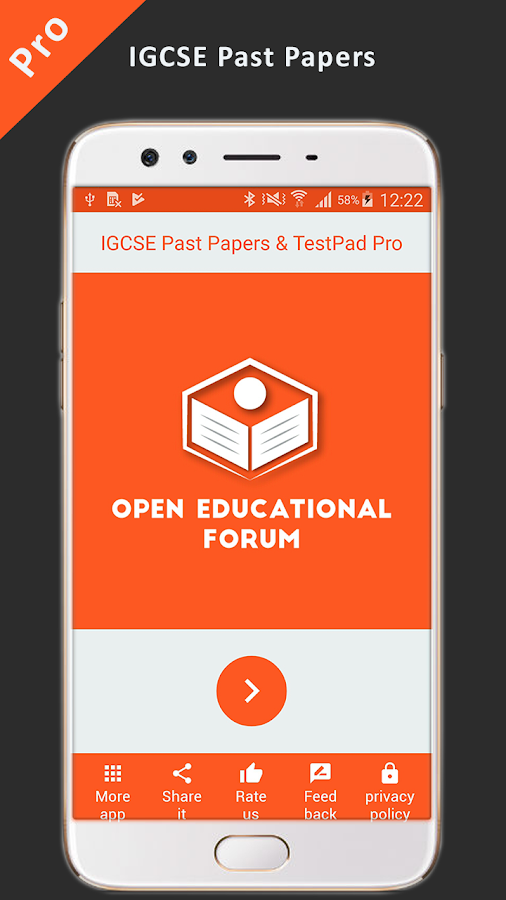 IGCSE Past Papers & TestPad PRO 5 0 APK Download - Android Books
