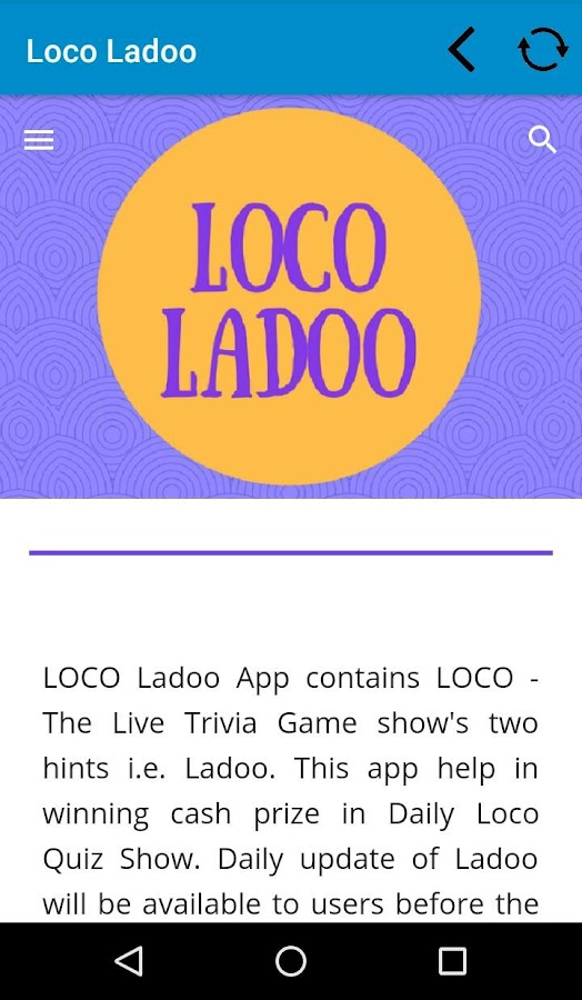 LOCO Ladoo 4 2 APK Download - Android Trivia Games