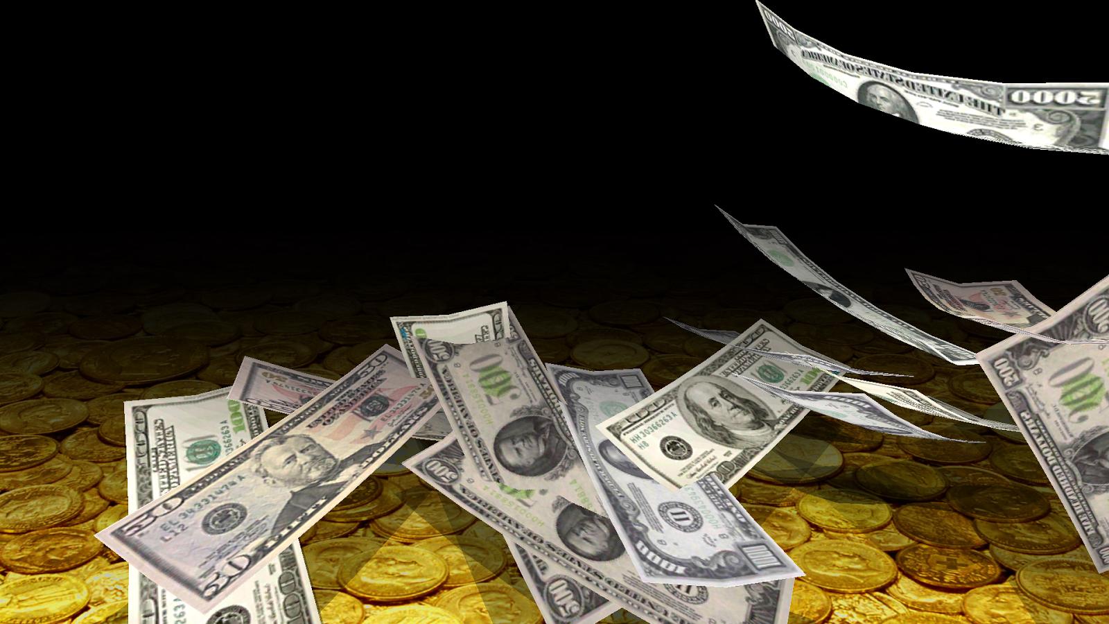 Falling Money 3D Live Wallpaper 43 Screenshot 13