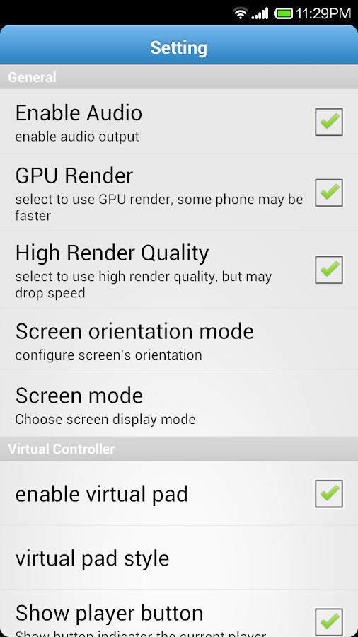 Super Arcade emulator 1 0 APK Download - Android